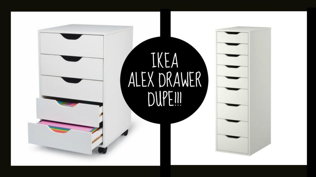 Makeup Storage Alex Drawer Dupe